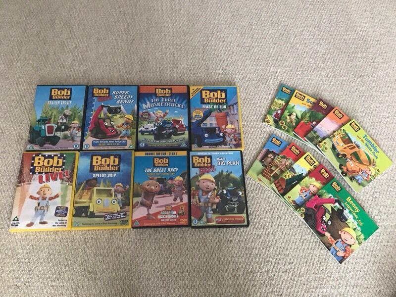 Bob the builderin Stockton on Tees, County DurhamGumtree - Bob the builder DVD and book bundle, including bob the builder live!!....all excellent condition £7