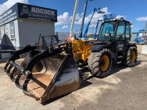 2014 JCB 550-80 Agri-Plus Telehandler (11,000 lb, 26') - $1750/m