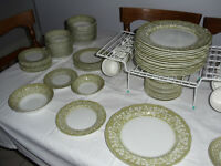 "Royal Staffordshire Ironstone ""Sherwood"" 100 pieces.,"