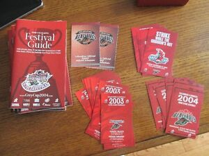 Lot Of CFL Ottawa Rough Rider Renegade Red Black collectibles