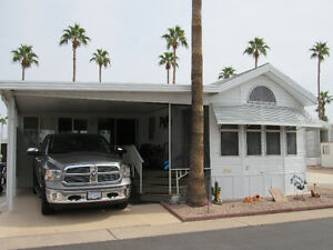FOR RENT:1996 Park Model @Towerpoint Resort, Mesa, Az