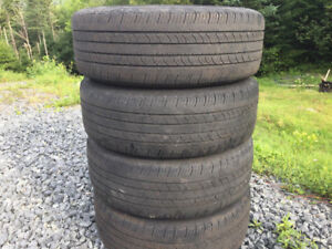 Four 195/65R15 Summer Tires