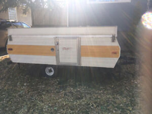 Cargo Trailer: Converted from Tent Trailer