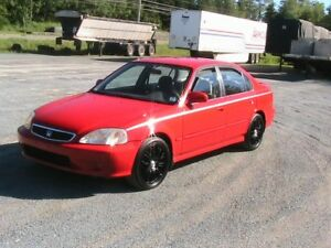 99 Honda civic, auto no rust  ,clean inside, inspection2020