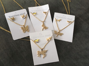 New necklace/earring sets