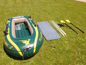 MINT CONDITION Intex Seahawk 2 Inflatable Boat
