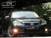 2011 11 LEXUS CT 1.8 200H SE-L PREMIER 5D AUTO 136 BHP