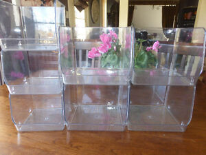 7 Stackable Storage Cubes