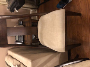 2 chairs, purchased from UpCountry,