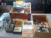 RC Airplane Engines, Accessories, Misc Tools and Modelling boxes
