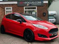 2015 Ford Fiesta 140 Zetec S Red 3dr RED EDITION! POWERFLOW EXHAUST!! PUMASPEED