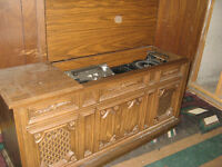 Entertainment unit - record player, radio, etc