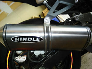Hindle full exhaust system &Dynojet Power commander - Ninja 300