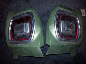 1968-70 FORD FALCON TAIL LIGHT ASSEMBLIES COMPLETE