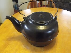 Very Large Cast Iron Kettle