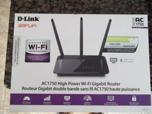 D-LINK AC1750 High Power Wi-Fi Gigabit Router