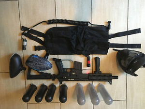Selling like new paintball equipment (great condition)