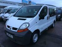 2006 Renault Trafic 6 SEATER CREW VAN IDEAL DOG VAN HAS REAR GRILL OR FAMILY CAR