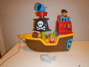 MEGA BLOCKS PIRATE SHIP Peterborough Peterborough Area image 1