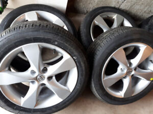 Nissan Altima,Maxim Mags andTire 215-55-R17 Bolt pattern 5X114.3