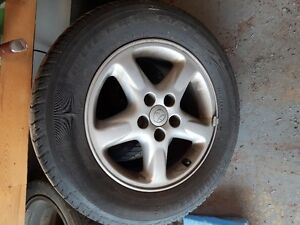 Rims and tires off Rav4