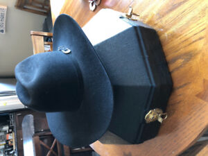 Stetson Hat and Carrying/Storage Case