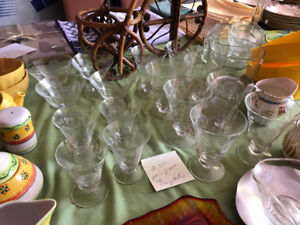 Crystal Glasses $2.50/each