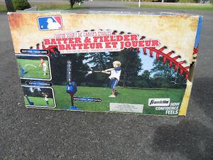 MLB Super Star Batter & Fielder Pitching Machine