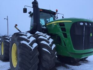Two jd 4wd and two drills for sale