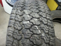 Two Goodyear Wrangler M+S LT275/70/R18 Tires