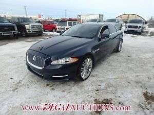 2011 JAGUAR XJ L SUPERSPORT 4D SEDAN LWB 5.0L L SUPERSPORT