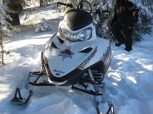 2009 Polaris Dragon 800 155 Track For ATV Trade or Sale