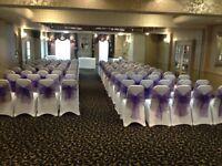 *50p chair covers,sash,wedding,birthday,engagement