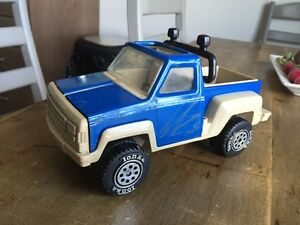 DC Vintage 1970s Tonka Pressed Steel Pickup Truck Blue And White