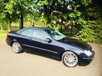 2003 Mercedes-Benz CLK 2.6 CLK240 Avantgarde Convertible 2dr Petrol