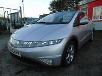 2006 Honda Civic 1.8 i VTEC ES 5dr i SHIFT Auto,2 keys,12 months mot,Warranty...