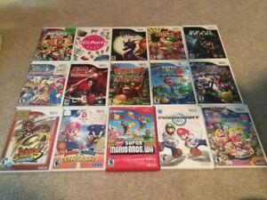 15 Nintendo Wii Games