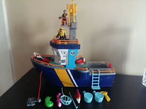 Imaginext boat play set