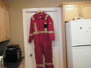 FR Coveralls   Asssorted  red