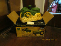 JOHN DEERE SALT AND PEPPER SHAKERS