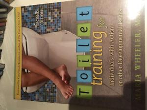 Toilet training autism, peer play books