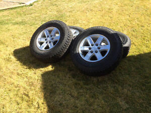 Gmc stock rims and winter tires