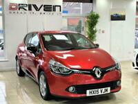 2015 RENAULT CLIO 1.2 DYNAMIQUE S MEDIA NAV 5DR + FREE DELIVERY TO YOUR DOOR
