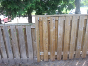 Bring back your fence or patio.