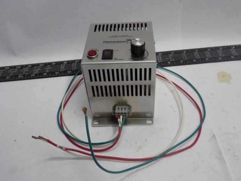 Pfannenberg 17020015407 200W 120VAC Fan Heater with Thermostat