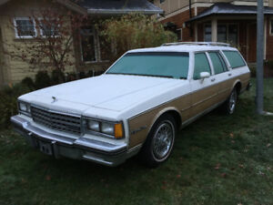 1984 Chevy Caprice Estate
