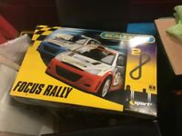 £50 ONO Scalextric Sport Advanced Track System Focus Hardly Used