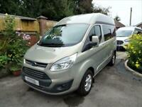 Ford Transit Custom 3 Berth 3 Travel Seats Rear Lounge Motorhome Camper Van For