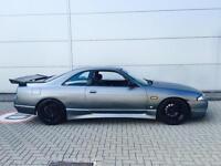 1995 N REG Nissan SKYLINE 2.5 GTST Turbo manual Matt Grey + Styling Kit