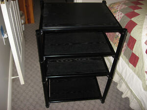 Steel Audio Rack 4 Shelves - very sturdy for your stereo